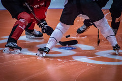 Face off (MagnusBengtsson) Tags: malmö skånelän sverige se fs180902 start fotosondag hockey ishockey icehockey malmöredhawks redhawks tpsturku