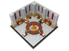 Knights of the Round Table (vitreolum) Tags: lego vitreolum castle vignette knightsoftheroundtable