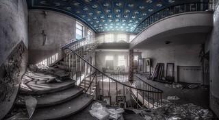 Pac-Man staircase