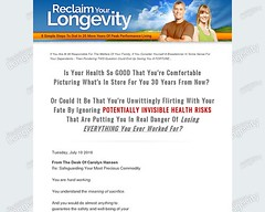 Reclaim Your Longevity: 8 Simple Steps To Dial In 20 More Years Of Peak Performance Living (wkozarew) Tags: reclaim your longevity 8 simple steps to dial in 20 more years of peak performance living