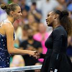 Karolina Pliskova, Serena Williams