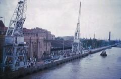 Arriving at Bombay , 1955 (eastwoodgeoff) Tags: mumbai bombay po