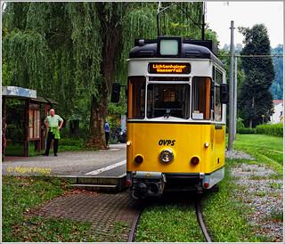 Mit der alten Straßenbahn