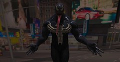 """ We...are Venom "" (maka_kagesl) Tags: cosplay venom marvel second secondlife sl life new york newyork ny nyc lapd comic comics eddie brock virtual videogame game gaming urban portrait spiderman street city building buildings fantasy"