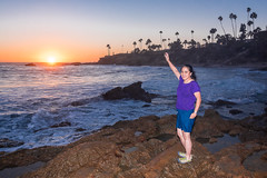 Goodbye and Good Night, Heisler Beach (SCSQ4) Tags: heislerparkecologicalreservebeach lagunabeach sunset