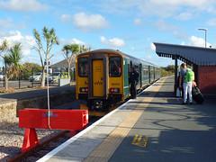 150202 Newquay (14) (Marky7890) Tags: gwr 150202 class150 sprinter 2n09 newquay railway cornwall atlanticcoastline train