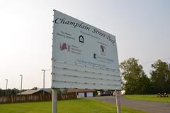 Champlain Street Park (Joe Shlabotnik) Tags: 2018 aroostook august2018 sign maine playground vanburen afsdxvrzoomnikkor18105mmf3556ged