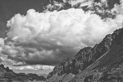 Zbojnickie Pleso (Wlodarro) Tags: tatry blackandwhite bnw landscape nature mountains clouds