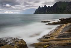 Tungeneset (Asbjørn Anders1) Tags: senja tungeneset workshop landscape seascape mountains longexposure rock water sky norway mountain sea ocean bay