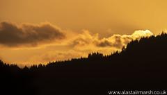 Ardnamurchan Sunset (Alastair Marsh Photography) Tags: sunlight sunshine sunset dusk clouds cloudformations cloud trees tree forest woodland woods wood silhouette ardnamurchan scotland scottishhighlands landscape landscapephotography
