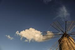 Saline 1 (blu69) Tags: salt saline trapani sicilia vento wind mulino could nuvola