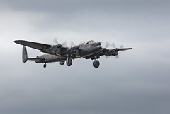 Lancaster Bomber Passing Over Headcorn (Gary Stamp cPAGB) Tags: canon lancaster headcorn aircraft airshow