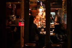pub (N.sino) Tags: kagurazaka pub woman lady drink open m9 summilux50mm 神楽坂 パブ