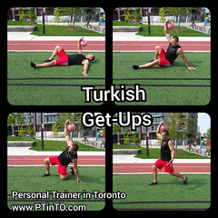 Turkish Get-Ups (personaltrainertoronto) Tags: boot camp hiit exercise workout bodybuilding athlete athletic fitness model fit kettlebell free weight bodyweight sexy muscles strong strength powerful track intensity interval abs legs glutes booty butt 6 pack sixpack
