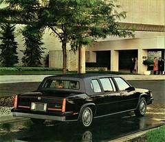 1985 Cadillac Fleetwood Seventy Five Limousine (aldenjewell) Tags: 1985 cadillac fleetwood seventy five limousine brochure
