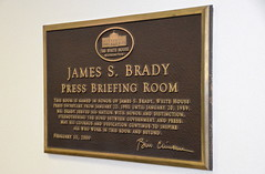James S. Brady Press Briefing Room (afagen) Tags: washington dc washingtondc districtofcolumbia whitehouse westwing jamessbradypressbriefingroom pressbriefingroom briefingroom sign
