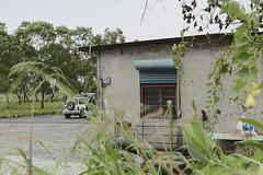赤柯山 (briandodotseng59) Tags: 台灣 花蓮 金針花 asia taiwan color coth5 green black building house home old classic dirty blue grey frame 35mm nikkor nikon digital countryside town outside vacation streetphoto