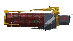 Ship#6 more cargo stuff.. (LEGOLIZE IT MAN) Tags: 6