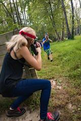hocking-6528 (FarFlungTravels) Tags: activities fun games gun hockinghills lasertag laurawatiloblake obstacles ohio shoot tourism woods 2018