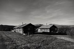 Twins (Mi-Fo-to) Tags: houses case gemelle gemelli twins montagna mountain baita camini alpe villandro dolomiti dolomites dolomiten italy italia alto adige panorama landscape paesaggio