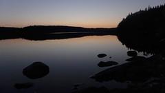 Tranquility (Nomad China) Tags: summer sunset kesä auringonlasku suomi finland repovesi kansallispuisto nationalpark nature naturereserve luonto lanscape maisema lake järvi sky taivas water vesi serene rauha rauhallinen dusk hämärä