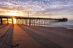 Sunrise Lines! -Capitola, CA- (kingzotshot) Tags: sunrise california capitola