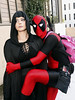 """Deadpool with his main """"squeeze""""... Death (greyloch) Tags: dragoncon cosplay deadpool 2018 costumes death canonrebelt6s niksoftware marvel comicbookcharacter comicbookcostume moviecharactercostume moviecharacter"""