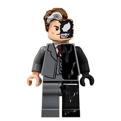 DC Marvel Amalgum lego universe (Mr Lego Customs (my other account got deleted)) Tags: lego batman spiderman two face venom chameleon riddler day decals custom minifigure dc marvel