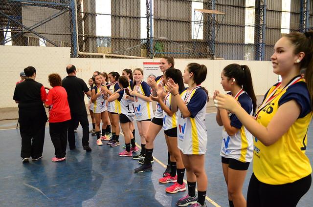 Handebol Fem II 1º  Jacareé x São Paulo - Val Morais  (38)