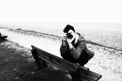 IMG_7134 (Scarlett J) Tags: black white bw 35mm filn film dark landscaoe landscape portrait beach clouds grain vintage old photography