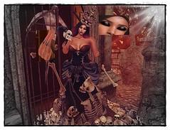 Queen of Sculls (syrajah) Tags: catwa maitreya boudoir sintiklia silouhette ag gloom episodeevent ro