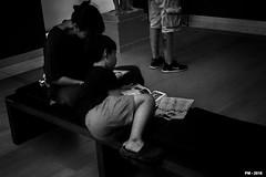 lire au musée (P. Marione) Tags: photography photographie fotografie photos photographies fotos photo foto picture image beeld bild museum musée bruxelles brussels lire child enfant book livre read reader pm marione sony dschx90v black noir zwart schwarz negro white blanc wit weiss blanco blackandwhite noiretblanc zwartenwit monochrome bw nb zw mono blackwhite noirblanc zwartwit bandw netb zenw schwarzweiss negroblanco
