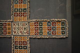 Philadelphia, PA - Philadelphia Museum of Art - Chaupar Game Board - India (Gujarat), c 1920-60