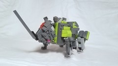 LEGO Transformers: Heavy Head [With Instructions] (michaelpickardart) Tags: lego legotransformers transformers megatron optimusprime bumblebee starscream combiner