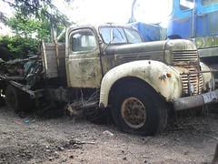 DNW 472. (EBAY WRECKS.) Tags: ebaywrecks wreck scrap rust dodge