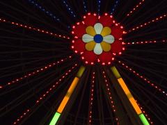 das Blumenrad (Elisabeth patchwork) Tags: lights colorful bunt night