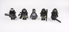 Neo-Blacktron Heavy Hitters (Hammerstein NWC) Tags: blacktron classicspace space lego minifigs minifigures figbard hammersteinnwc purist badass