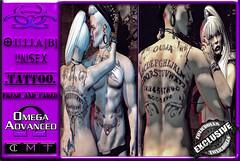 [TD] O.U.I.J.A [B] [TATTOO] Unisex (.☣.†ᴏxɪᴄÐᴏɪɪs.☣.) Tags: ouija b toxic toxicdolls gothic grunge cosmetic tatt ink tattoo body secondlife sl male unisex omega product female fashion fresh dark black chest hud