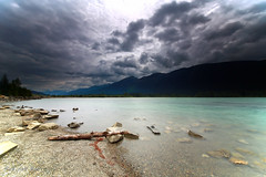 Moose Lake, Jasper National Park, Canada (Red Not Rab) Tags: canada jasper moose lake sky water mountain cans2s