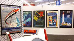 TOMORROWLAND Posters (BudCat14/Ross) Tags: disneyland tomorrowland posters auction california poster monorail