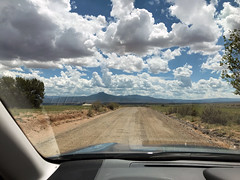 Leaving Ghost Ranch (emdot) Tags: ghostranch newmexico highdesert pedernal clouds stormclouds
