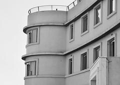 The Midland B&W (Sarah E Coulson) Tags: morecambebay hotel blackwhite style artdeco seaside architecture
