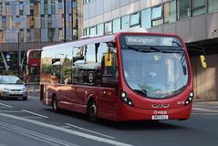 AL SLS25 @ West Croydon bus station (ianjpoole) Tags: arriva london wright streetlite max df sk17hjj sls25 working route 410 crystal palace bus station beddington gardens wallington
