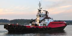 2018-09-05 Crowley Tug Tan'erliq (2048x1024) (-jon) Tags: anacortes fidalgoisland sanjuanislands skagitcounty skagit washingtonstate washington guemeschannel curtiswharf boat ship vessel tug tugboat crowley tanerliq a266122photographyproduction imo9178381 mmsi366760670 wdf2025 valdez alaska