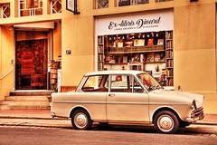 ex libris (jpbordais) Tags: hdr dinard voiture ancienne