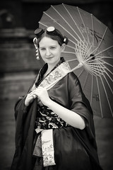 Portrait from Lincoln's Asylum X Steampunk Festival (Gordon.A) Tags: lincolnshire lincoln cathedral asylum x asylumx theasylum steam punk steampunk weekend convivial lincolnasylum lincolnasylumsteampunk lincolnasylumsteampunkfestival festival festiwal festivaali festivalen festspiele alternative culture subculture lifestyle creative costume goggles japanese kimono parasol woman lady face people event eventphotography amateur street photography day daylight outdoor outdoors outside town city urban pose posed naturallight portrait mono monochrome monochromatic monotone blackandwhite bnw bw canon eos 750d sigma sigma50100mmf18dc