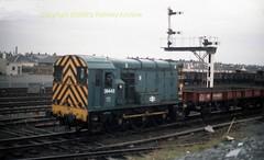 Falkland Yard 08442 early 80's c706 (Ernies Railway Archive) Tags: ayr falklandyard gswr lms scotrail