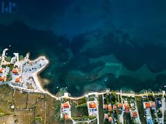 Kustici from above (rungegraphy) Tags: coast bay ocean houses beach croatia kustici novalja drone dji mavic