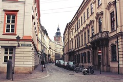 Kraków streets (Gondolin Girl) Tags: krakow poland europe travel city holiday holidays break citybreak architecture church streets