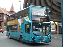 Arriva North West 4466 MX61 AXG on 79, Liverpool ONE Bus Stn (sambuses) Tags: arrivanorthwest 4466 mx61axg